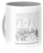 The Founding Fathers Drafting The Constitution Coffee Mug by Paul Noth