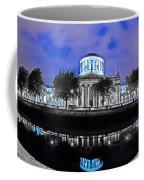The Four Courts 5 - Dublin Ireland Coffee Mug