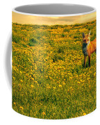The Fox And The Cow Coffee Mug