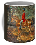 The Fox Hunt With Light Antique Store Mural Griffin Georgia Art Coffee Mug