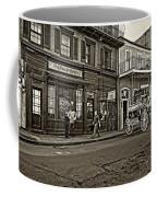 The French Quarter Sepia Coffee Mug