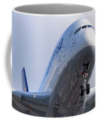 The Front Office Lufthansa Airbus A-380 Coffee Mug
