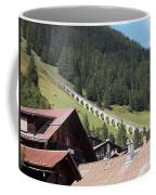 The Funicular In Murren Coffee Mug