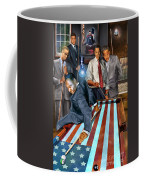 The Game Changers And Table Runners Coffee Mug by Reggie Duffie