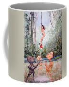 The Game Of The River Coffee Mug