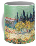 The Garden At Arles, Detail Coffee Mug