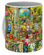 The Garden Cupboard Coffee Mug