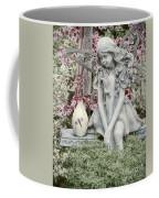 The Garden Fairy Coffee Mug by Peggy Hughes