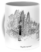The Garden Is My Resume Coffee Mug