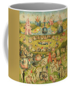 The Garden Of Earthly Delights Allegory Of Luxury, Central Panel Of Triptych, C.1500 Oil On Panel Coffee Mug