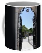 The Gate At Vizcaya Gardens Coffee Mug