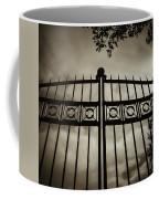 The Gate In Sepia Coffee Mug