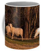 The Gazing And Grazing Sheep Coffee Mug