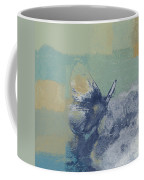 The Giant Butterfly And The Moon - J216094206-c09a Coffee Mug by Variance Collections