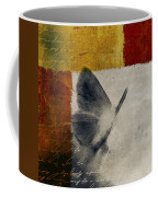 The Giant Butterfly And The Moon - S09-22cbrt Coffee Mug by Variance Collections