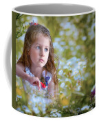 The Girl And The Butterfly Coffee Mug
