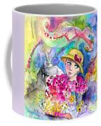 The Girl And The Lizard Coffee Mug