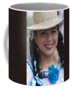 The Girl With The Panama Hat Coffee Mug