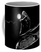 The Girl On The Roof Coffee Mug