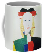 The Girl With The Hat Coffee Mug