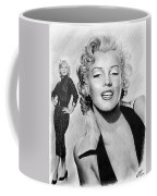 The Glamour Days Marilyn Monroe Coffee Mug by Andrew Read