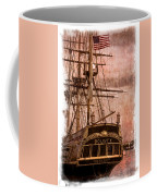 The Gleaming Hull Of The Hms Bounty Coffee Mug by Debra and Dave Vanderlaan