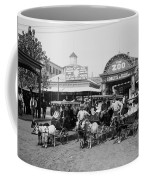 The Goat Carriages Coney Island 1900 Coffee Mug