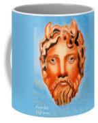 The God Jupiter Or Zeus.  Coffee Mug