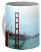 The Golden Gate Bridge And San Francisco Bay Coffee Mug