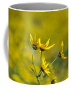 The Golden Wildflowers Coffee Mug
