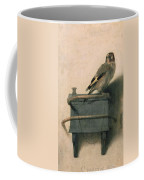 The Goldfinch Coffee Mug by Carel Fabritius