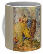 The Good Samaritan - After Delacroix Coffee Mug