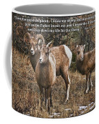 The Good Shepherd's Sheep Coffee Mug