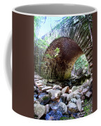 The Gorge Trail Stone Bridge Coffee Mug