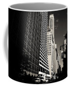 The Grace Building And The Chrysler Building - New York City Coffee Mug