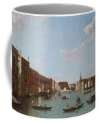 The Grand Canal And San Geremia, Venice, 18th Century Coffee Mug