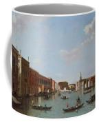 The Grand Canal And San Geremia, Venice, 18th Century Coffee Mug