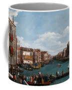 The Grand Canal At Venice Coffee Mug by Antonio Canaletto