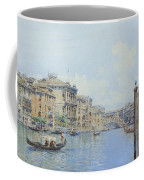 The Grand Canal With A View Of Palace Coffee Mug