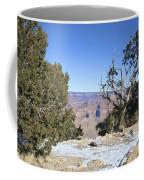 The Grand Canyon In January Coffee Mug