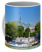 The Grand Palais And The Alexandre Bridge Paris Coffee Mug