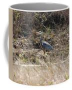 The Great Blue Heron Coffee Mug