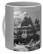1m3752-bw-the Great North Face Of North Twin Coffee Mug