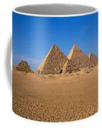 The Great Pyramids Giza Egypt Coffee Mug