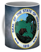 The Great Seal Of The State Of Indiana  Coffee Mug