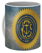 The Great Seal Of The State Of Rhode Island Coffee Mug