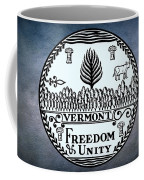 The Great Seal Of The State Of Vermont Coffee Mug