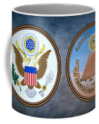 The Great Seal Of The United States Obverse And Reverse Coffee Mug