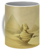The Great Sphinx And The Pyramids Of Giza Coffee Mug