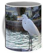 The Great White Egret Coffee Mug